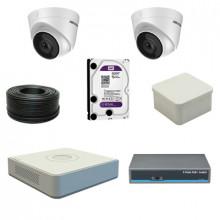 Комплект IP на 2 уличные камеры - 2МП