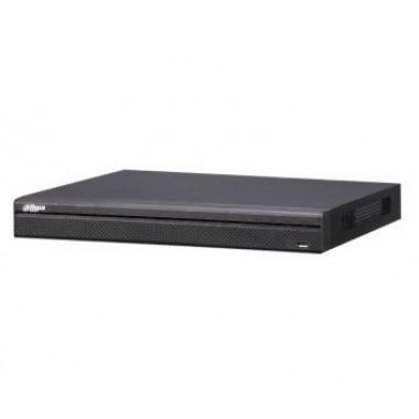Dahua DH-NVR4216-16P 16 канальный Lite 1U 16PoE сетевой видеорегистратор