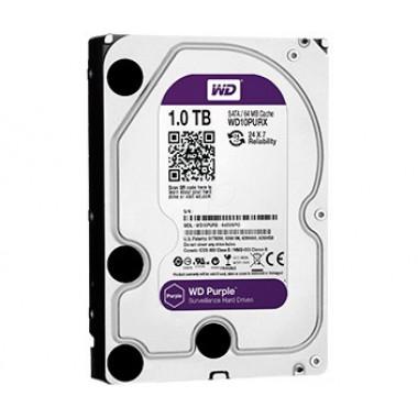 WD Purple 1Тб WD10PURX - жесткий диск для систем видеонаблюдения