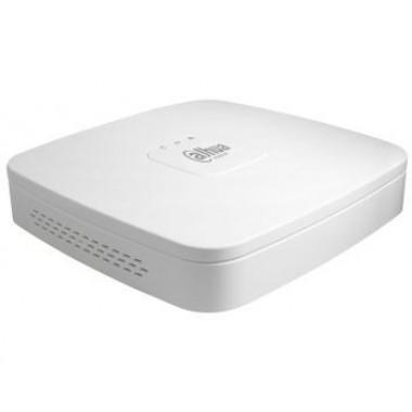 Dahua DH-NVR4104-P-4KS2 4-канальный PoE Smart 1U 4K сетевой видеорегистратор