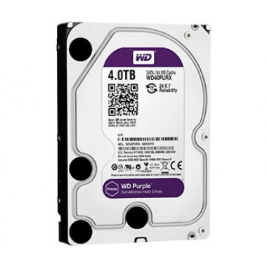 WD Purple 4TB - жесткий диск для систем видеонаблюдения