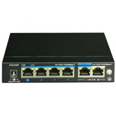 UTEPO UTP3-GSW04-TPD60 4-портовый неуправляемый POE коммутатор