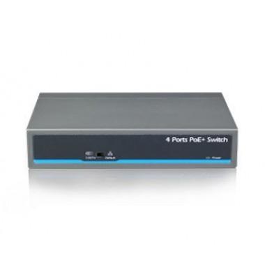 UTEPO UTP1-SW0401-TP60 4-портовый неуправляемый PoE коммутатор