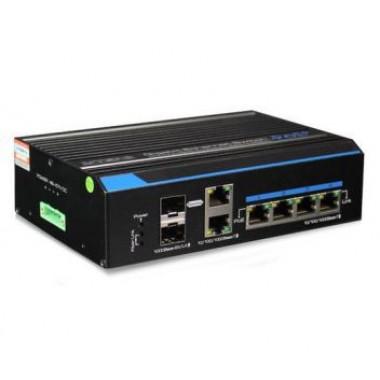 UTEPO UTP7204GE-HPOE 4-портовый неуправляемый POE коммутатор