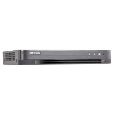Hikvision  iDS-7204HUHI-K1/4S 4-канальный ACUSENSE Turbo HD видеорегистратор
