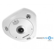 Hikvision DS-2CD63C5G0-IVS 12Мп Fisheye IP камера серии DeepinView