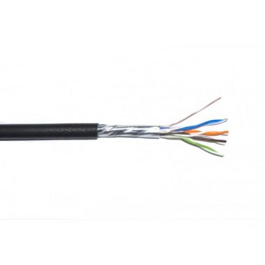 Кабель витая пара внешний ДКЗ FTP 4x2x0,48 ПE для видеонаблюдения и интернет сетей