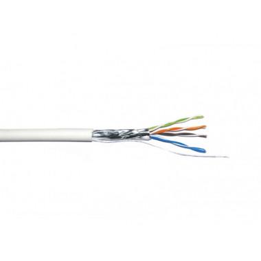 Кабель витая пара внутренний ДКЗ FTP 4x2x0,50 ПВХ для видеонаблюдения и интернет сетей