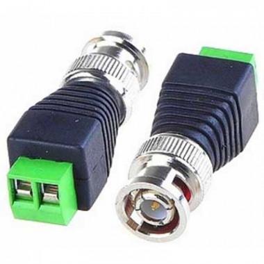 Разъем BNC Screw для подключения кабеля видеосигнала к камере - винтовой