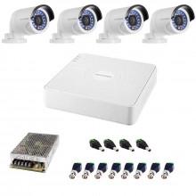 Комплект TURBO HD - 4 уличные камеры