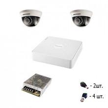 Комплект TURBO HD - 2 уличные камеры