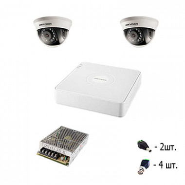 Комплект видеонаблюдения