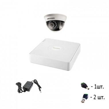 Комплект видеонаблюдения для склада - 1 камера Hikvision