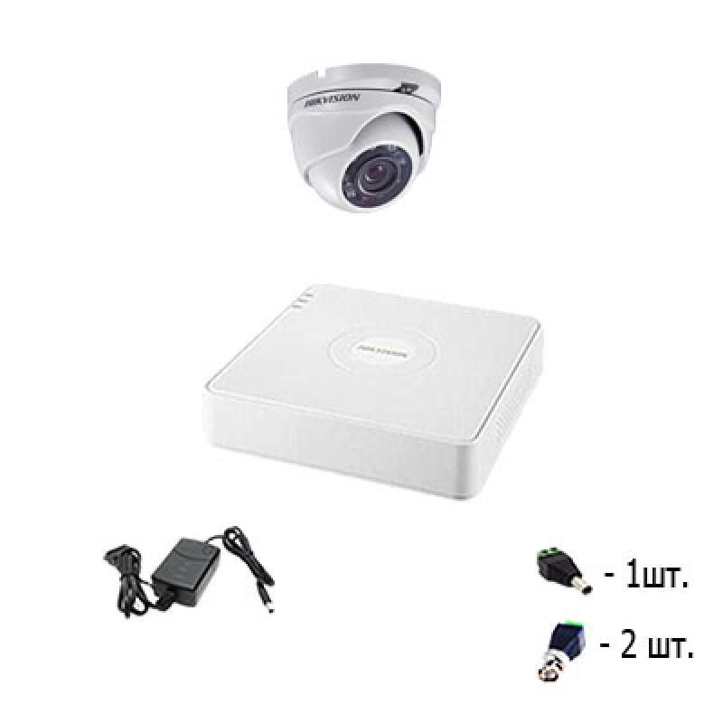 Комплект на 2 камеры Hikvision