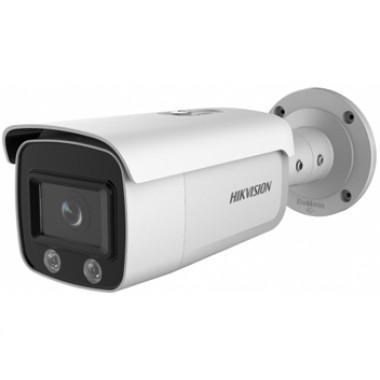 DS-2CD2T47G2-L (4 мм) 4Мп ColorVu IP камера Hikvision с ИК подсветкой