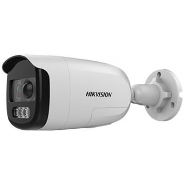 Hikvision DS-2CE12DFT-PIRXOF (3.6 мм) 2Мп ColorVu Turbo HD видеокамера с PIR датчиком и сиреной