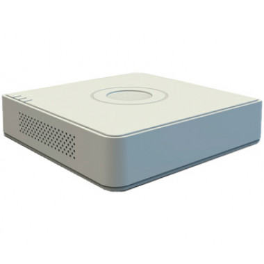 DS-7104HQHI-K1(S) 4-канальный Turbo HD видеорегистратор Hikvision с передачей звука по коаксиалу