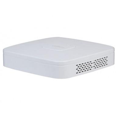 4-канальный Smart 4K NVR видеорегистратор c PoE коммутатором на 4 порта Dahua DHI-NVR4104-P-4KS2/L
