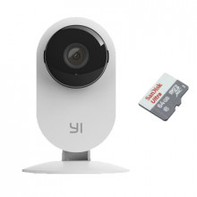 Xiaomi Yi Home 2 с картой памяти 64Гб - комплект 1 внутренняя WiFi камера