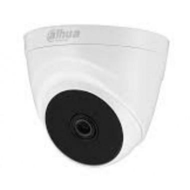 2 Мп HDCVI купольная видеокамера Dahua DH-HAC-T1A21P (3.6мм)