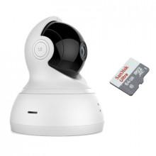 Xiaomi YI Dome Camera 360° (1080P) с картой памяти 64Гб - комплект 1 внутренняя WiFi камера