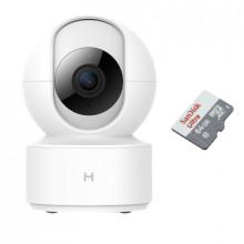 Xiaomi Xiaobai iMiLab Home Security Camera Basic с картой памяти 64Гб - комплект 1 внутренняя WiFi камера