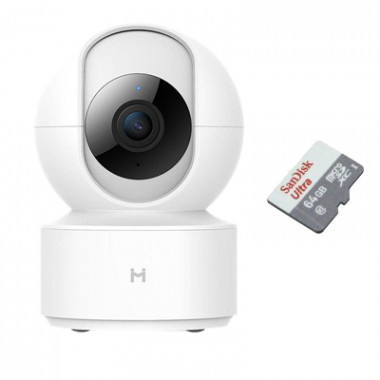 Xiaomi Xiaobai iMiLab Home Security с картой памяти 64Gb - комплект видеонаблюдения