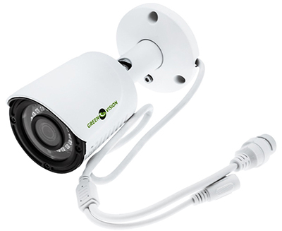 IP камера с цилиндрическим корпусом Green Vision
