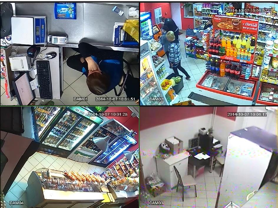 Видеонаблюдение для магазина - Безопасность продавца