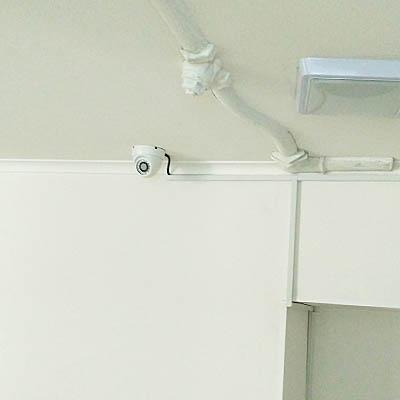 Пример установки видеонаблюдения