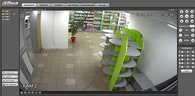 Просмотр видео с IP камер видеонаблюдения